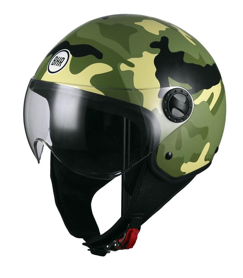 CASCO ONE CAMOUFLAGE VERDE